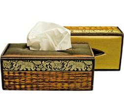 Seiden-Kleenexbox